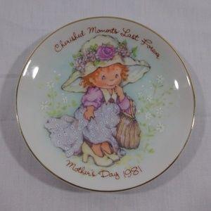 Vintage Avon Cherished Moments Plate
